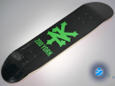 Zoo York Cracker Black skateboard — 7.75 deck