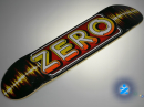 Zero Stereo Skateboard — 7.5 Team Deck