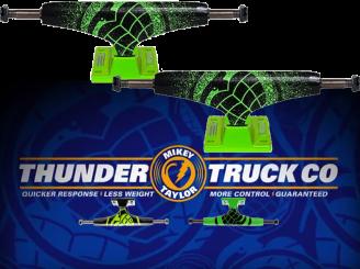 Thunder 145 Lo Truck  — Sonora Green Spray