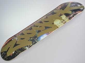 Zoo York City Lights Tag skateboard — 7.75 deck