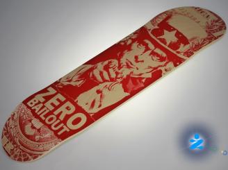 Zero Bailout Skateboard — 8.125 Team Deck