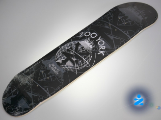 Zoo York 93 'TIL infinity skateboard — 7.75 deck