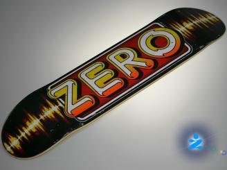 Zero Stereo Skateboard — 7.5 Team Deck