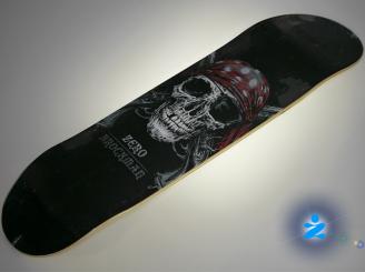 Zero James Brockman Pirate Skull — 8.375 deck