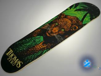Zero Jamie Thomas Leopard — 8.0 Pro Deck