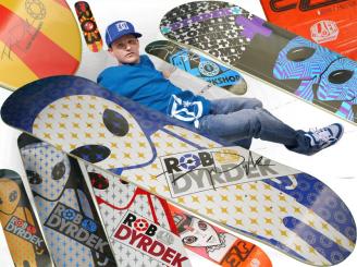 AWS Rob Dyrdek Blue Soldier — 7.62 Pro Deck