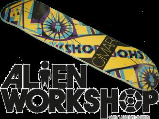 Alien Workshop Omar Hexmark — 8.0 Pro Deck