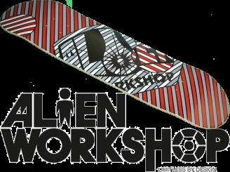 Alien Workshop OG Spot-on — 8.25 Team Deck