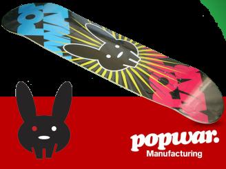 PopWar Manufacturing Star Bunny — 7.75 Team Deck
