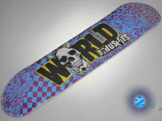 World industries Punk Mini — 7.5 Team Deck