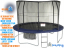 JumpKing JumpPOD DELUXE Trampoline Rond 430 x92 cm