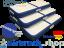 3 pcs AirSteps: 145cm width | 125, 95, 65 cm lengt