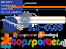 Air track HT520-65 Blauw HeyTex Evenwicht Turnbalk