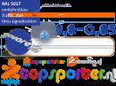 Air track HT360-65 Blauw HeyTex Evenwicht Turnbalk