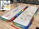 3m Rainbow Air Track Unicorn gym track miniblower