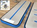 3m 15cm blue AirTrack Air Track gym floor voetpomp