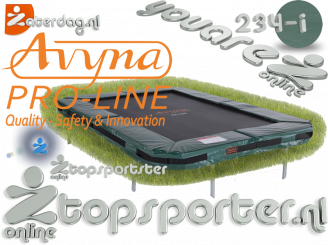 340x240 Avyna PRO-LINE InGround Groen rechthoekig