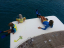 4m Extra deck space, Super yacht Sun-pads Sport XL
