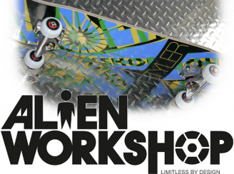 JOUW 'Complete', Top USA Alien Workshop skateboard