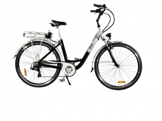 Elektrische fiets City E-bike 250W 28 inch Alu.